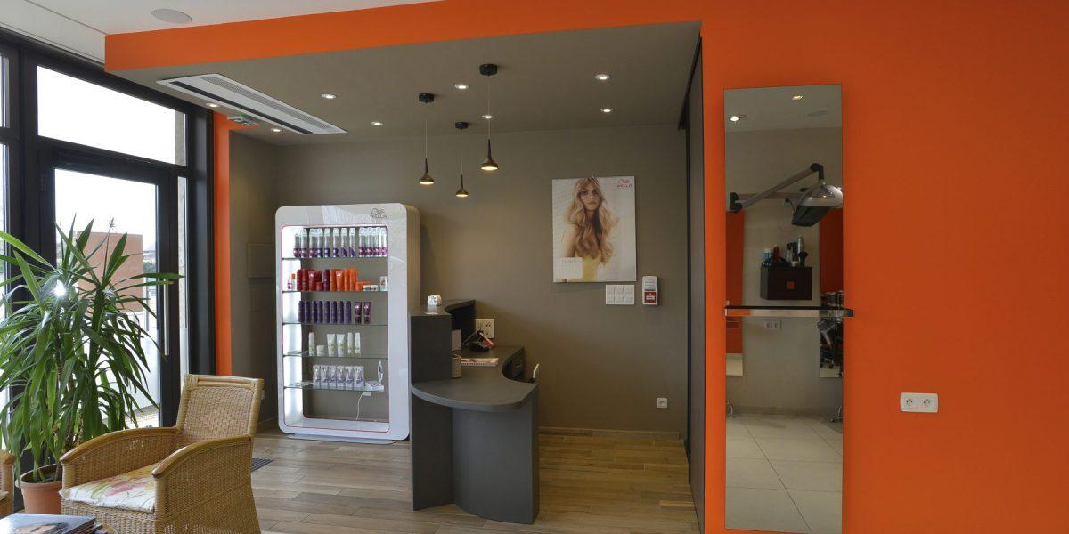 Réhabilitation d'un local en salon de coiffure - ALTANEO